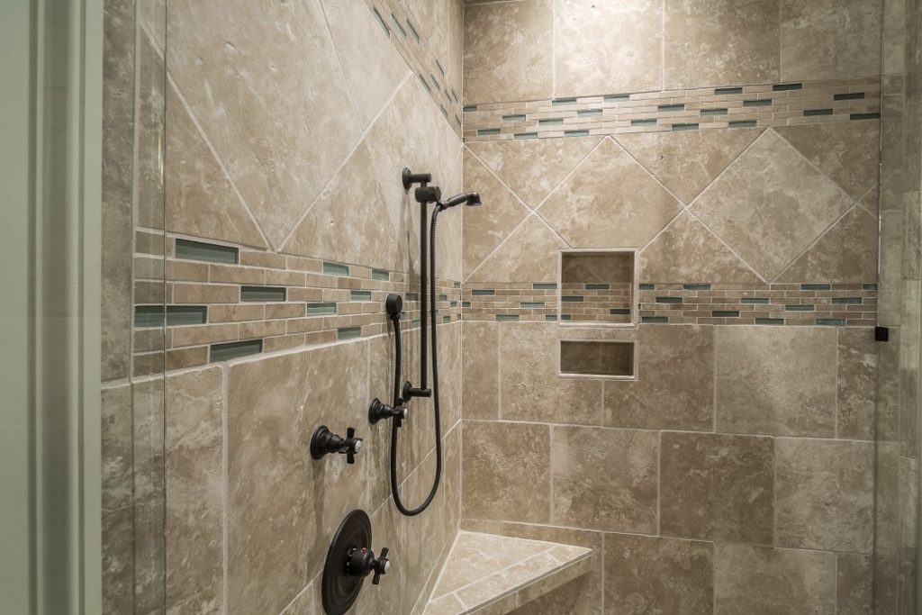 luxury home decor shower