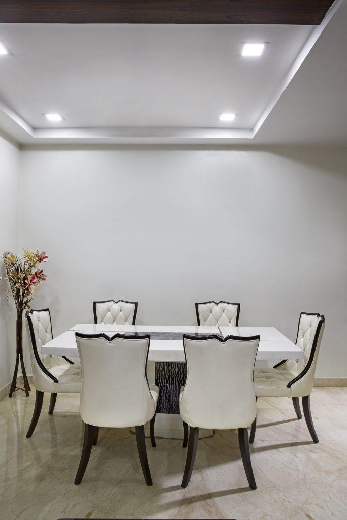 minimalist tray ceiling