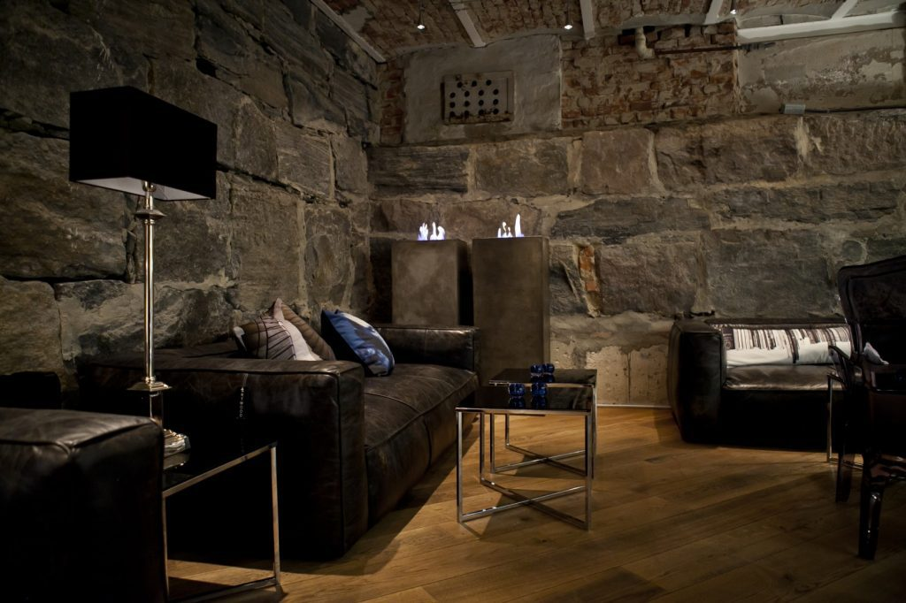 stone walled basement
