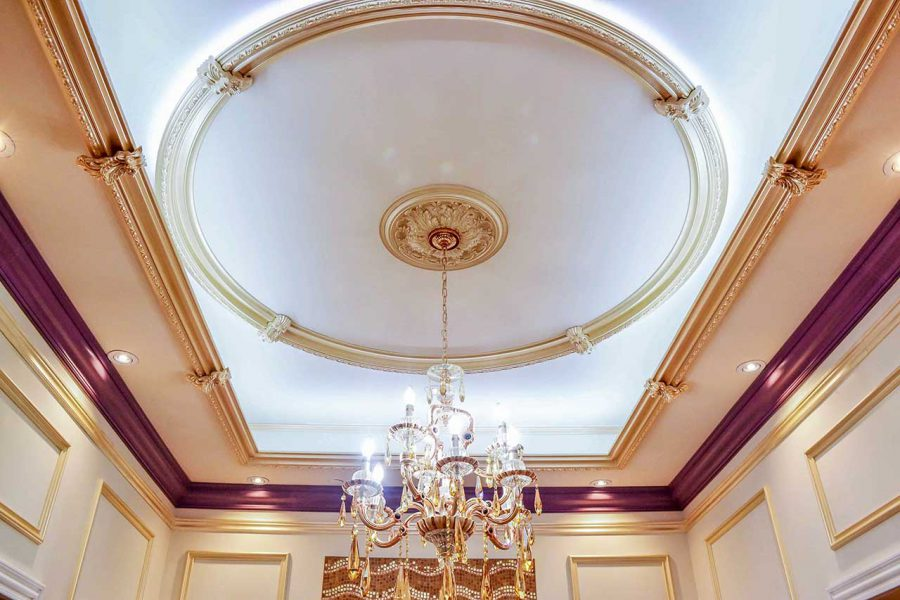 elegant ceiling decor