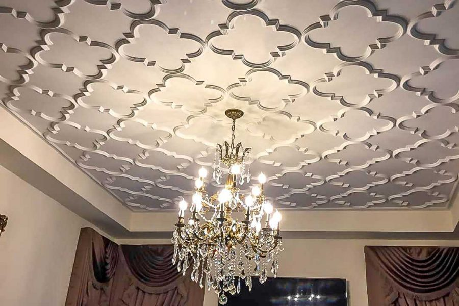 luxury ceiling pattern