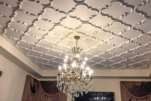 patterned ceiling tiles