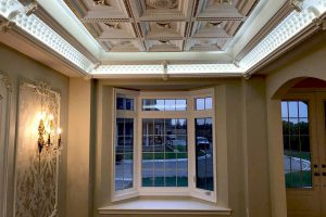 coffered tiles