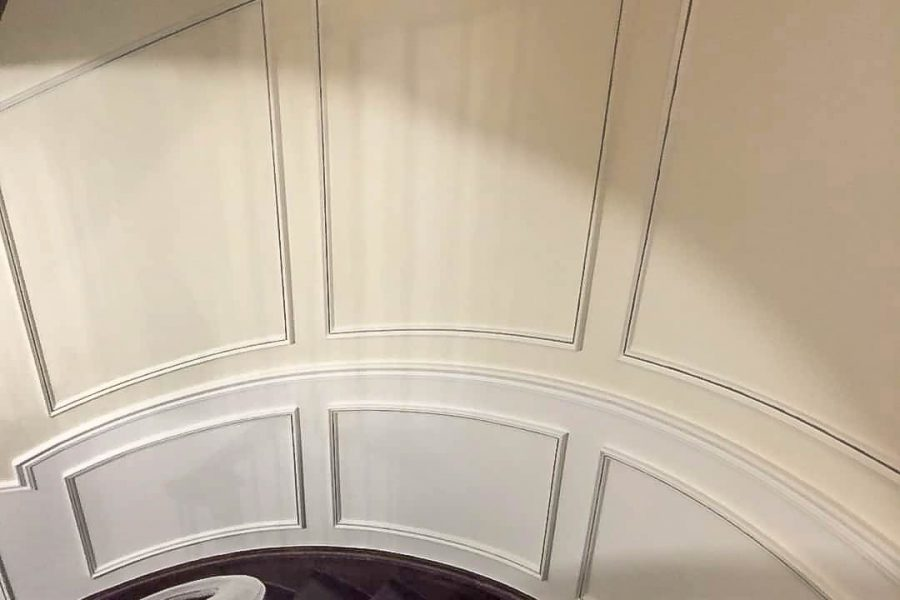 luxury stair moulding