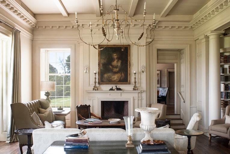 neoclassic interior design