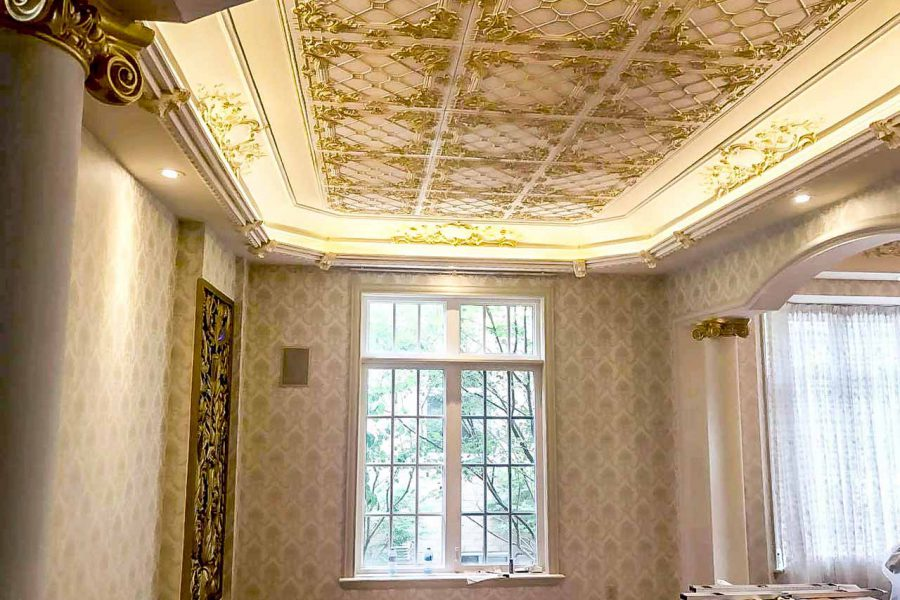 ornamental decorative ceiling