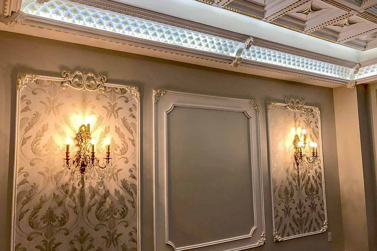 wall moulding ideas