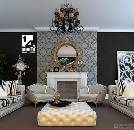 transitional wallpaper design